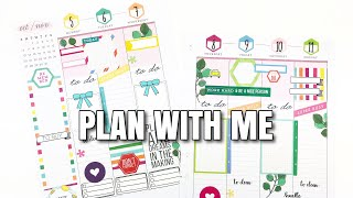 Weekly Plan With Me! CLASSIC HAPPY PLANNER | Nov 5th - 11th | At Home With Quita