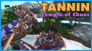 TANNIN: The Temple of Chaos! Coaster Spotlight 372 #PlanetCoaster