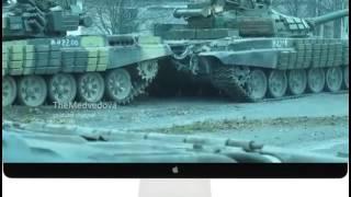 Новости Новороссии  Колонна танков ополчения ДНР  Новости Украины сегодня