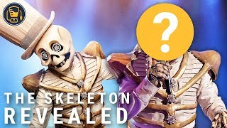 The Masked Singer Season 2: The Skeleton Reveal