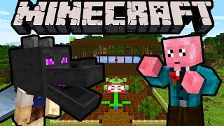 Minecraft DRAGON BOY - VS the Poppy Pincher! - Episode 4 (Super Hero Story & Improv Adventure)