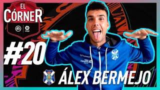 #20 ElCórnerLaLiga: ALEX BERMEJO nos enseña su plantilla de FIFA21 en ESCUELA DE FUT
