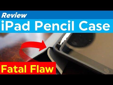 Case Review: iPad Apple Pencil Soke Slim Fit Smart Case (BLACK)