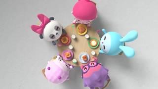 Малышарики - Про еду - Сборник мультиков для самых маленьких