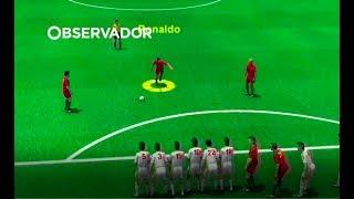 Os golos de Ronaldo em 3D