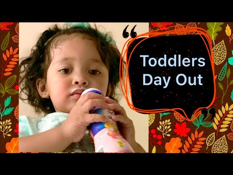 A toddler named Szanna's first time riding Carnival rides|Toddlers day out|Learn colors of cars