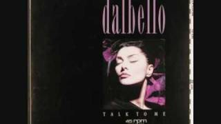 DALBELLO - talk to me (12'' Remix) 1988 CD