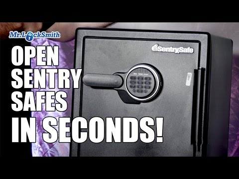 Open Sentry Safe In Seconds With Black Box | Mr. Locksmith Training