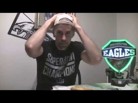 Some Guy Eats a Cheesesteak