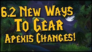 New Ways To Gear! Apexis Crystals Overhauled!