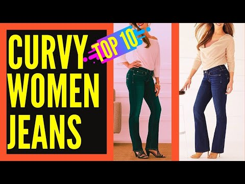 Best Jeans for Curvy Women or Girls    Best Jeans for Curvy Body