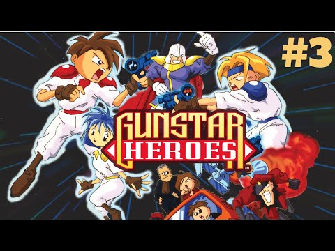 [Mega Drive/Genesis] Gunstar Heroes - The Flying Battleship #3
