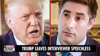 Trump Leaves Interviewer SPEECHLESS