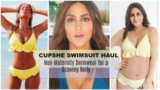 Cupshe Swimsuit Try-On Haul 2020 | 7 Months Pregnant | Ami Desai