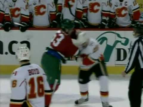 Eric Nystrom vs Ryan White