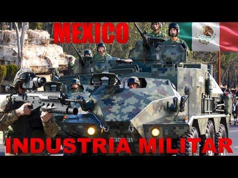 Innovación, Ciencia y Desarrollo Tecnológico - México Incrementa su Industria Militar