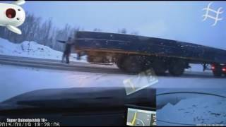 Подборка Аварий Грузовиков   1 часть