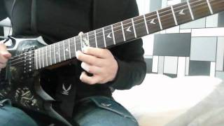 As blood runs black - The brighter side of suffering (guitar cover)