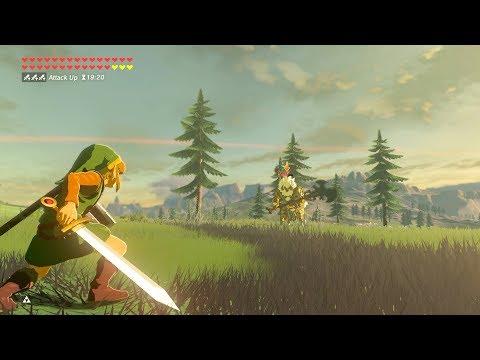 Zelda Breath of the Wild - Silver Lynel Guardian Weapons