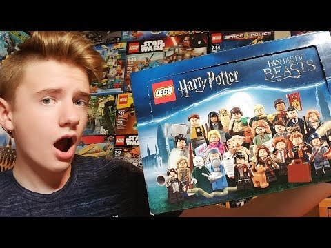 OPENING A BOX (ish) OF LEGO HARRY POTTER MINIFIGURES!