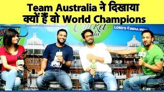 Live: Aus vs WI: लड़कर हारा वेस्टइंडीज, ऑस्ट्रेलिया 15 रनों से जीता | CWC2019 | Sports Tak