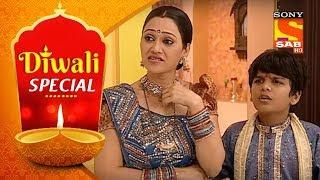 Diwali Special | Taarak Mehta Ka Ooltah Chashmah | Lakshmi Pooja With Gada Family