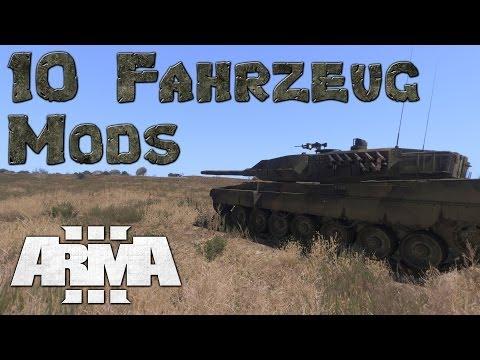 ArmA 3 - 10 aktuelle Fahrzeug-Mods (06/2014)