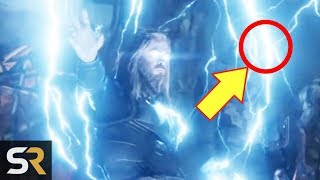 30 Things You Missed In Avengers Endgame