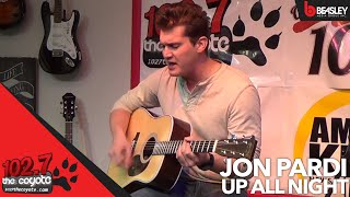 Jon Pardi plays Up All Night Live for 102.7 The Coyote