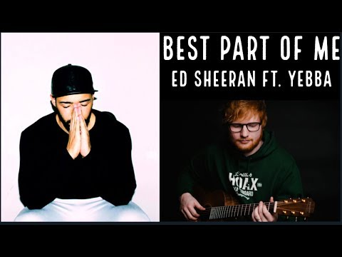 Ed Sheeran - Best Part Of Me (feat. YEBBA) [Official Lyric Video] REACTION 😱