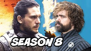 Game Of Thrones Season 8 Jon Snow Tyrion Foreshadowing Scenes Explained