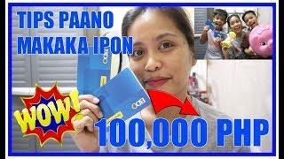 PAANO MAG IPON NG PERA SA SIMPLENG PARAAN  MAMALEYTIPS