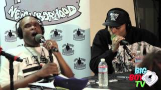 "Chris Brown and Big Boy Bust a Freestyle ""All Up in There""