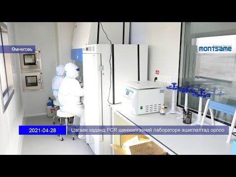 Цагаан хаданд PCR шинжилгээний лаборатори ашиглалтад орлоо