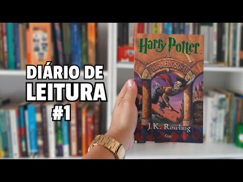 HARRY POTTER E A PEDRA FILOSOFAL - DIÁRIO DE LEITURA #1