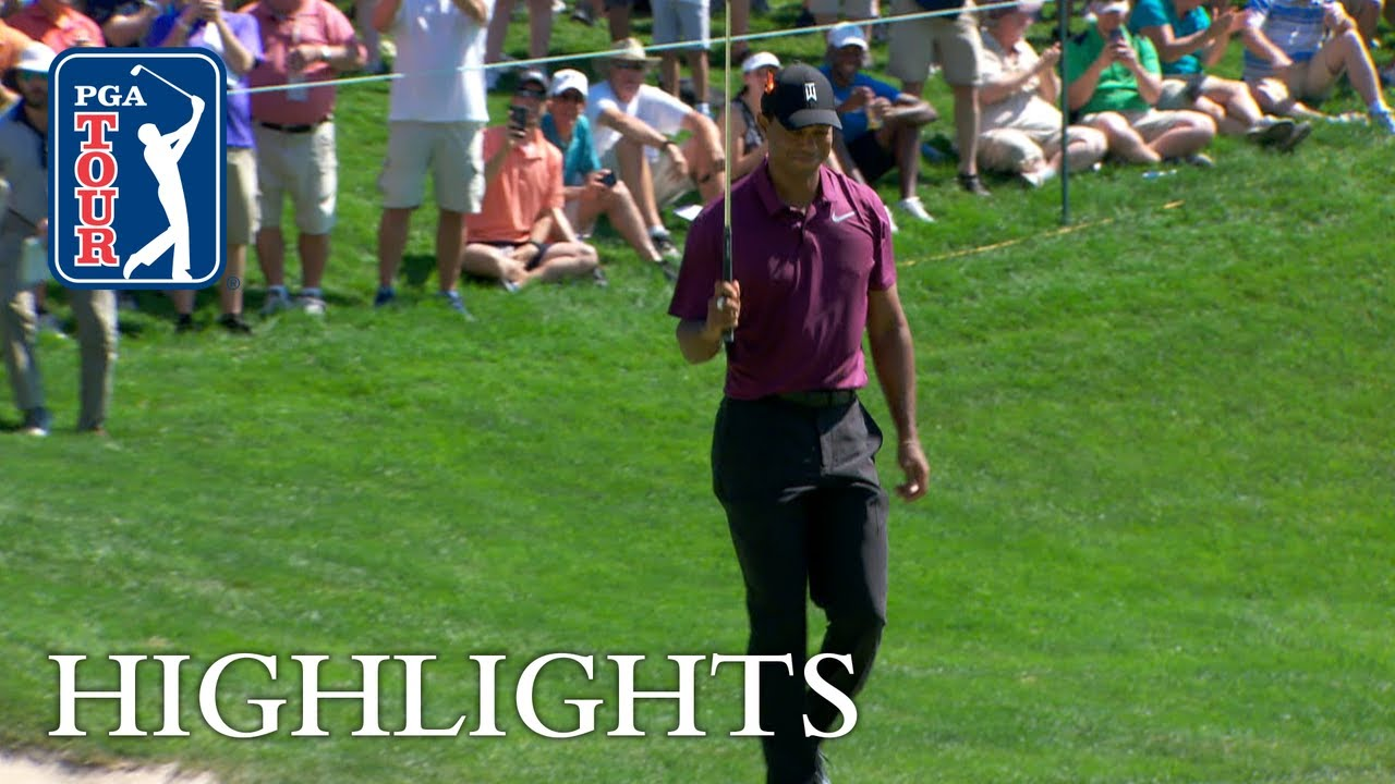 Tiger Woods' Highlights|Round 2|Quicken Loans 2018 thumbnail