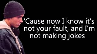 Eminem Ft Nate Ruess   Headlights Lyrics