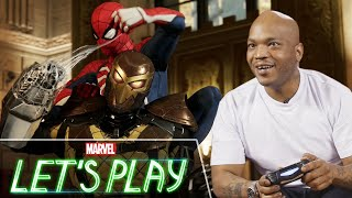 Styles P plays Marvel's Spider-Man on PS4 | Marvel Let's Play