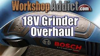 Bosch GWS18V50 18 Volt 5 Angle Grinder Review