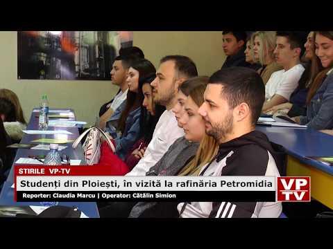 Studenți din Ploiești, în vizită la rafinăria Petromidia