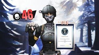 46 KILLS FORTNITE WORLDRECORD | SOLO VS SQUAD (Controller on PC) | Ghost Kamo
