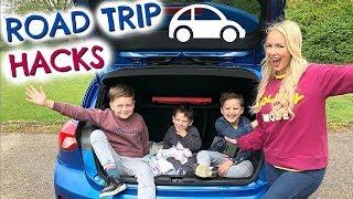 ROAD TRIP HACKS  AD     SUMMER MOM HACKS      EMILY NORRIS