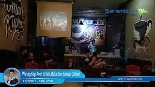 Warung Kopi Aceh di Solo, Buka Sore sampai Dinihari