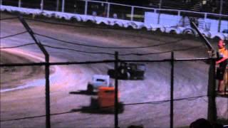 08/23/14 Creek County Speedway Dwarf Main