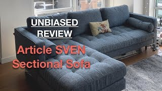 Article Sven Sectional Sofa UNBIASED Review