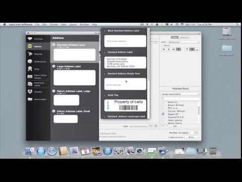 Leitz Icon für PC und MAC: Etikett neu einrichten