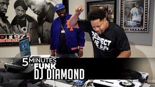 DJ Diamond | #5MinutesOfFunk007 | #TurntableTuesday97