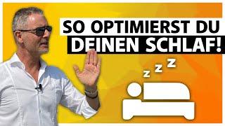Wie kann man besser schlafen? - Gesünder schlafen - So optimierst du deinen Schlaf! (2020)