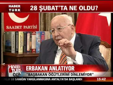 No 265 Prof. Dr. Necmettin ERBAKAN Habertürk Özel 20 Aralık 2010 Pazartesi cd-B