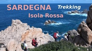 preview picture of video 'Sardegna 2014 CAI di Susa G1 – ISOLA ROSSA'